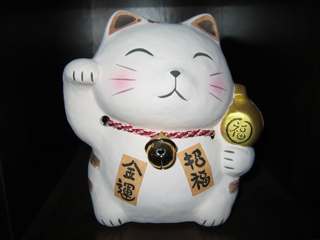 Blog Des Chats Maneki Neko Japonais
